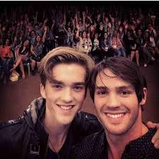 Steven McQueen (actor) & his brother Jessarae (musician)